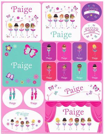 Prima Ballerinas Stickers