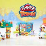 Building and Creating with Play-Doh Town