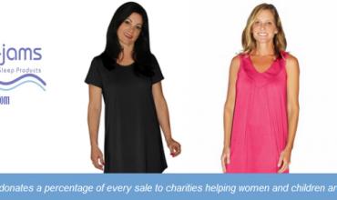 Moisture wicking women's sleepwear