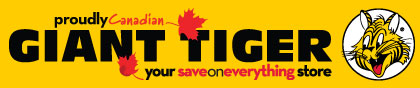 Giant Tiger banner