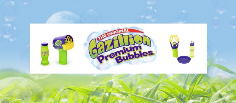 Gazillion Bubbles Triple Bubble Blaster