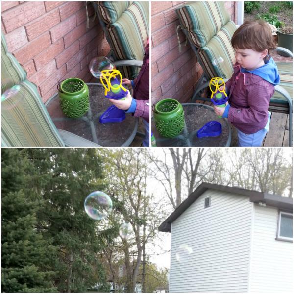The Gazillion Bubbles Triple Bubble Blaster