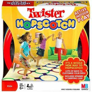 TWISTER HOPSCOTCH game