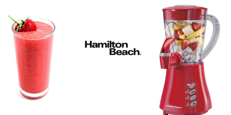 The perfect Smoothie with Hamilton Beach Giveaway