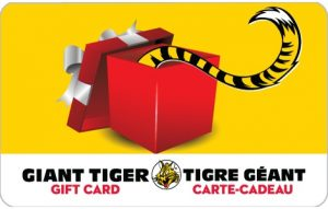 $100 Giant Tiger Gift Card