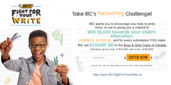 BIC Fight For Your Write Movement