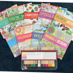 Art Supplies: Coloured Pencils & Adult Coloring Books