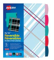 Avery® Big Tab™ Reversible Dividers