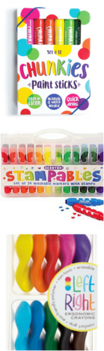 Art Materials for Preschoolers