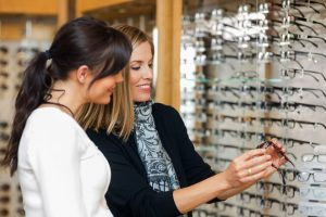 Shopping online for prescription glasses