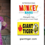 Giant Tiger introduces three children's clothing lines