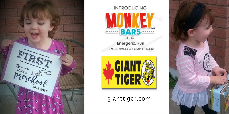 Preschool Girls Clothes at Giant Tiger & $100 Gift card Giveaway
