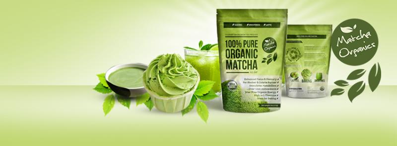 100% USDA Organic Matcha Green Tea Powder Extract