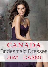 Bridesmaid Dresses Canada Just CA$89