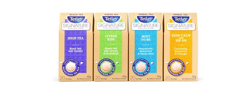 Tetley signature collection-Canada's tea leader