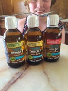 crystal clean from the sea omega 3 vitamins by Webber naturals