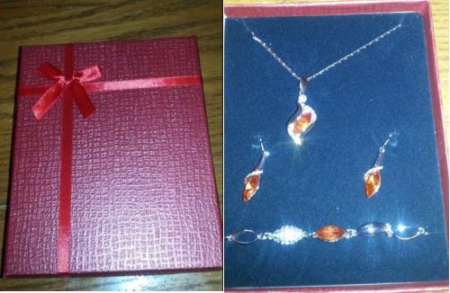 RuSong Fashion Jewelry Set
