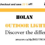 Solar Motion Sensor LED Lights