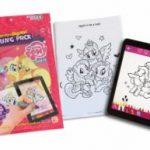 Painting Lulu Paper-to-Digital Coloring Pack