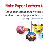 Make Paper Lantern Animals from Klutz