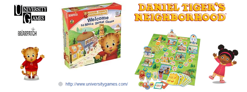 Daniel Tiger's Neighborhood Welcome to Main Street