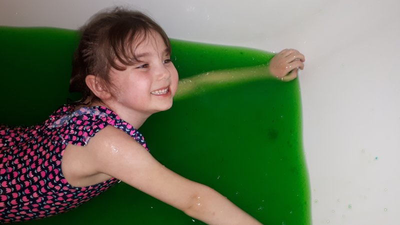 Bath Time fun with Gelli Baff and Slime Baff giveaway