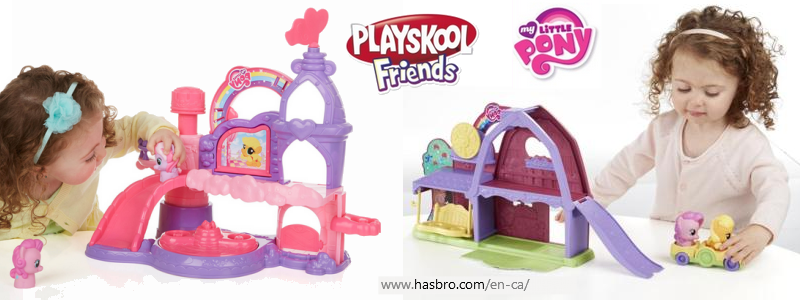 Playskool Friends My Little Pony toys