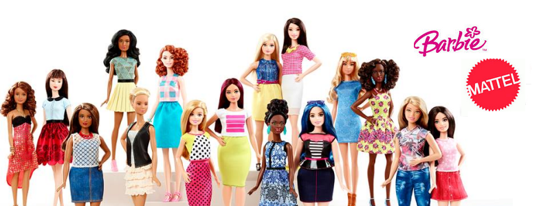 Barbie Fashionistas doll line