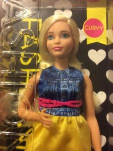 Chambray Chic Curvy Barbie Doll