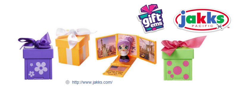 Gift 'ems Dolls from Jakks Pacific