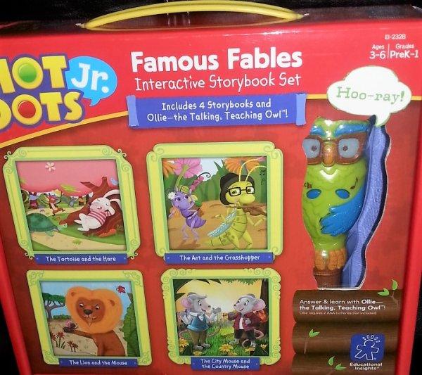 Hot Dots Jr. Famous Fables Interactive Storybook Set