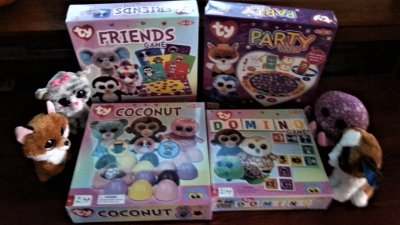 Ty Beanie Boo Games From Tactic Games Today S Woman
