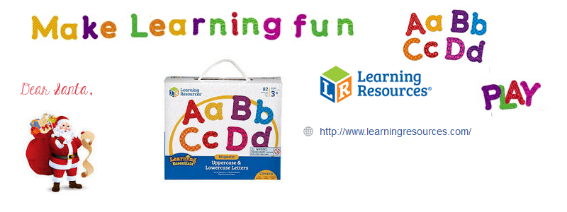 Magnetic Upper & Lower Letters
