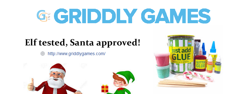 Just Add Glue: Griddly Games