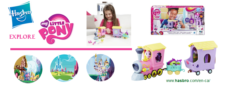 Explore Equestria Friendship Express Train