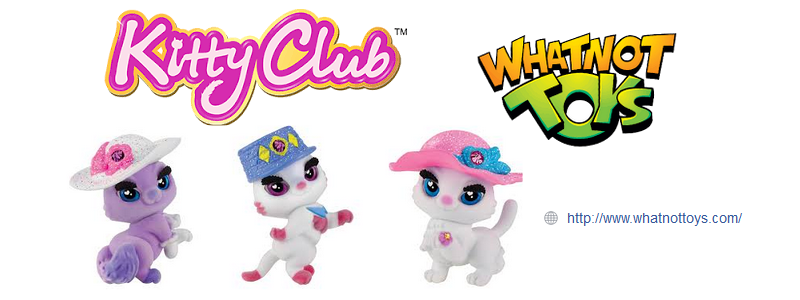 Kitty Club Heart Lane Café Bistro and Kitty Club toys