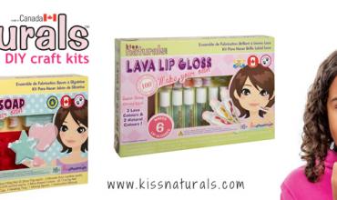 Kiss Naturals DIY Beauty Kits for Girls
