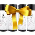 Libre Tea Glasses makes a perfect gift for Mom