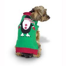 Penguin Ugly XMAS Dog Sweater