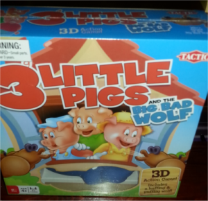3 Little Pigs Board Game