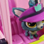 Littlest Pet Shop LPS Shuttle Bus