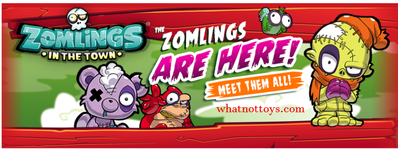 Zomlings whatnot toys