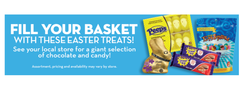Easter gift ideas from Giant Tiger