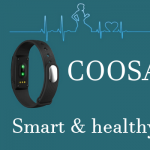 Wireless fitness tracker by COOSA