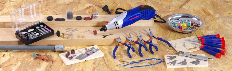 WORKPRO  Rotary Tool Kit