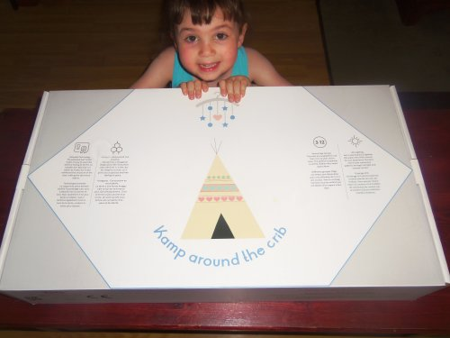 K& around the Crib teepee tent  sc 1 st  Todayu0027s Woman & Teepee Tent from Kamp around the Crib - Todayu0027s Woman