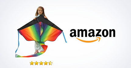 Amazon Huge Rainbow Kite For Kids