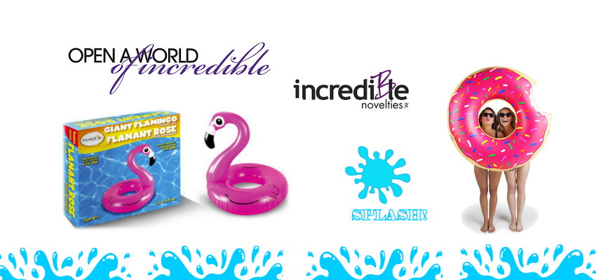 Inflatable Pool Floats-  Incredible Novelties