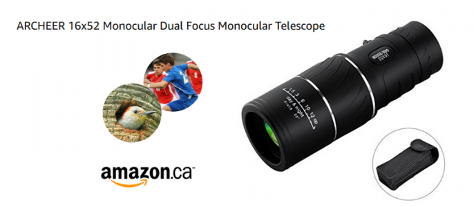 Day & Night Vision Monocular from ARCHEER