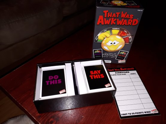 That Was Awkward Adult Party Game